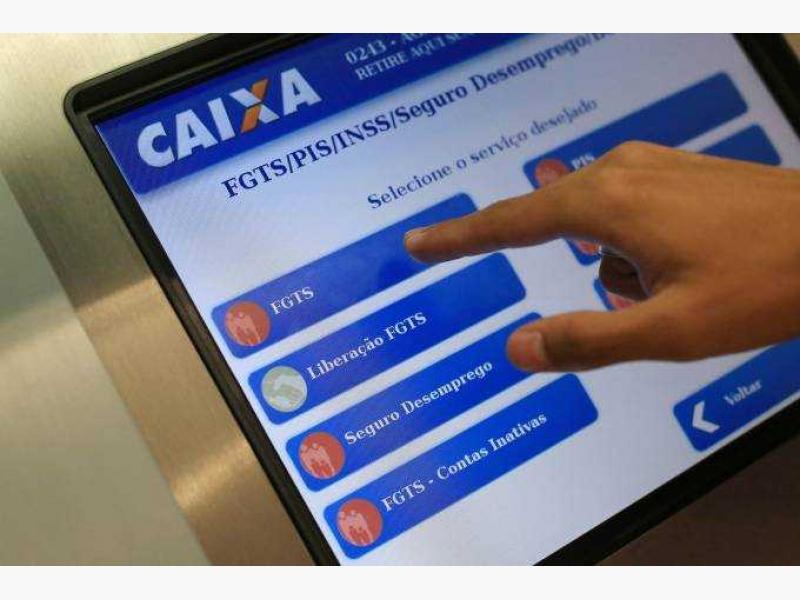 FGTS: trabalhador já pode cancelar crédito automático em conta da Caixa
